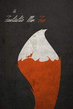 The Fantastic Mr Fox poster movie poster art print por ThunderDoam