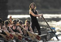 She did not lose her athletic prowess from her days playing cricket at St. Andrew's. In January 2007, Middleton rowed on the Thames with The Sisterhood, which was poised to become the first all-women crew to cross the Channel in a traditional Chinese dragon boat.