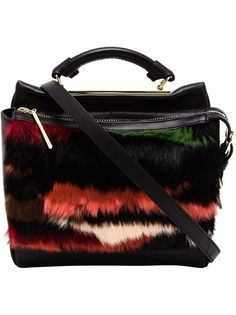 3.1 PHILLIP LIM Ryder Fur And Leather Satchel
