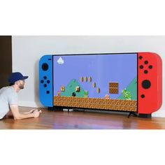 Rack para TV Nintendo Switch - Mine Minecraft World Unique Woodworking, Woodworking Projects Diy, Popular Woodworking, Woodworking Plans, Woodworking Shop, Woodworking Machinery, Geek Decor, Ultimate Gaming Room, Sala Geek