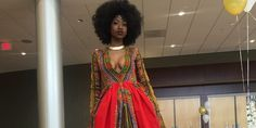 High School Senior Rocks Prom With Gorgeous Dress She Designed Herself (Photos)