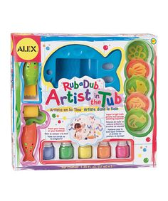 Take a look at this Artist in the Tub Bath Kit by ALEX on #zulily today! Mess, mess and more mess. A perfect kids gift.