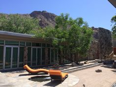 Review and photos of the Sanctuary spa on camelback mountain in Paradise Valley, Arizona.