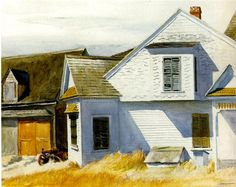 House on Pamet River - Edward Hopper