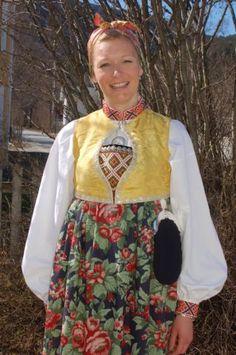 Flå bunad Foto: Vibeke Hjønnevåg http://home.online.no/~vi-hjoen/