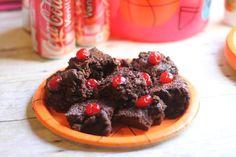 Easy Slam Dunk Cherry & Vanilla Coke Brownies #FinalFourPack #CollectiveBias #ad