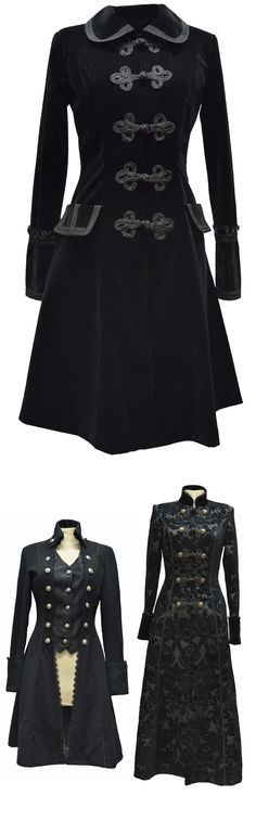 Shop goth couture military coats for fall at RebelsMarket!