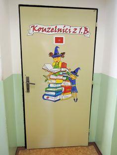 Kouzelníci z 1.B - dveře