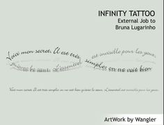 Infinity in French