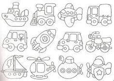 imagens e moldes de meio de transporte para feltro e tecido - Google Search
