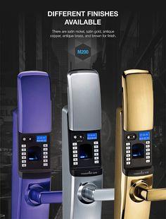 fingerprint digital intelligent door lock with CE certificate Smart Home Technology, Latest Technology, Technology Gadgets, Tech Gadgets, Fingerprint Technology, Digital Lock, Bad Room Ideas, Smart Door Locks, Electronic Lock