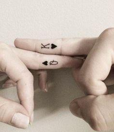 Future husband and wife tattoos 🖋👰🏼
