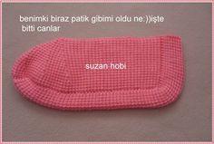 Tunus İşi Boncuklu Babet Yapılışı - Moda Yeni | Moda - Havlu kenarı modelleri - iğne oyası