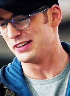 Chris Evans/Steve Rogers  gifs ... Captain America: The Winter Soldier with glasses