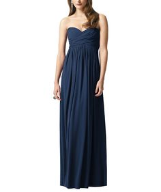 Stylist NotesThis style fits true-to-size.DescriptionDessy Collection Style 2846Full length bridesmaid dressSweetheart necklineEmpire waistHidden zipper in backLux chiffon