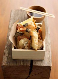 Seafood tempura