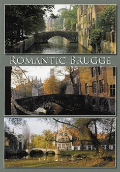 PK1266. Brugge. Belgien. Romantisches Brugge.