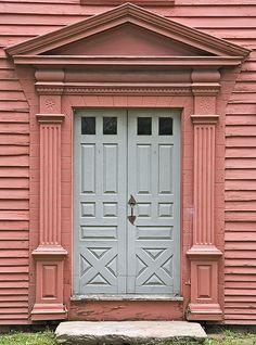 https://flic.kr/p/5KusAr | Deerfield Door | Massachusetts, USA IMG_1676