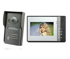 92.00$  Watch now - http://aliq9o.worldwells.pw/go.php?t=32727839640 - freeship 7 inch LCD Home Security Video Door Phone Doorbell Intercom Kit System security camera system home door intercom 92.00$