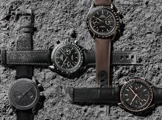 Omega Speedmaster Dark Side Of The Moon Watch Now In Four New Colorways
