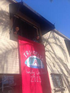 Tri Delta banner