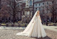 Eddy K Milano Style MD197 - Sleeveless, Ball Gown wedding dress | itakeyou.co.uk #weddingdress #wedding #weddingdresses #weddinggown #bridalgown #bridaldress #weddinggowns #engaged