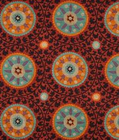 3 Park Tribal Thread Sunset Fabric - $48.70 onlinefabricstore.net This fabric is even more stunning in person!!!