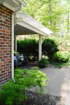 Young House Love | Building A Garage Or Carport Pergola | http://www.younghouselove.com