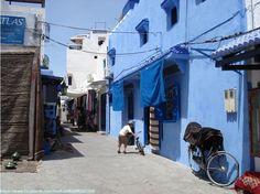 Típica calle en Asilah | Marruecos