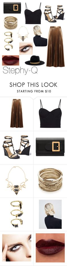 """Night walker"" by stephanie-tuimavave ❤ liked on Polyvore featuring A.L.C., Alexander Wang, Venus, Bally, Isharya, Sole Society, Noir Jewelry, ASOS and Janessa Leone"
