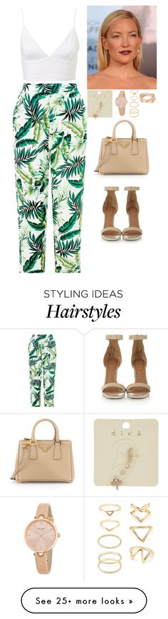 """Untitled #228"" by californiamariposa on Polyvore featuring Miss Selfridge, Givenchy, Kate Spade, Forever 21, Cartier and Prada"