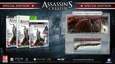 - A retail copy of Assassin's Creed III - Special packaging - An exclusive single player mission - A Dangerous Secret