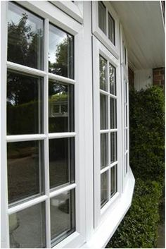 uPVC Windows - Our range of styles in our most popular uPVC type enables you to find the glazing your home needs. A secure and durable option, we make them to measure. We provide: Casement Windows (these are the normal windows in your home) Bay Windows French Windows Georgian Bar Windows Tilt and Turn Windows Sash Windows Flying Mullion Windows