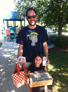 Swarm Car in St. Louis delivering cookies, frozen yogurt, and Cardinals tickets!