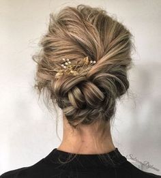 92 Drop-Dead Gorgeous Wedding Hairstyles For Every Bride To Be Beautiful wedding updo hairstyle ,messy updo wedding hairstyles ,chignon , braided updo hairstyles ,bridal updo Braided Hairstyles Updo, Up Hairstyles, Hairstyle Ideas, Chignon Hairstyle, Gorgeous Hairstyles, Braided Chignon, Bun Braid, Updos With Braids, Classy Updo Hairstyles