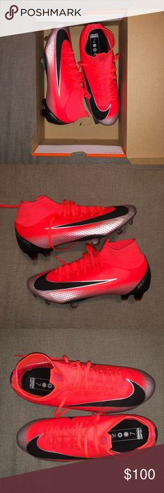 765ead7e6 BRAND NEW Superfly 6 Pro CR7 Nike Soccer Cleats NEVER WORN OR USED BEFORE!  NEW