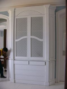Cabinet decorative custom cover #homedecor