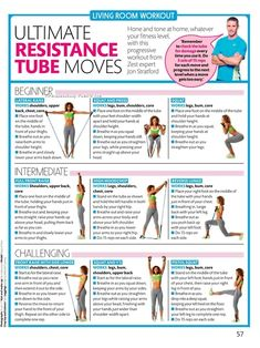 Resistance band exercise
