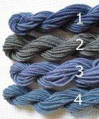 How to get various natural blue dyes using black beans.