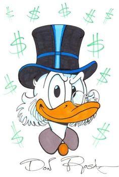 ME SEGUE NO MEU INSTAGRAM TAISSA_SILVA_95 📥📥 Disney Cartoons, Disney Cartoon Characters, Cartoon Art, Walt Disney, Disney Magic, Don Rosa, Dagobert Duck, Disney Ducktales, Uncle Scrooge