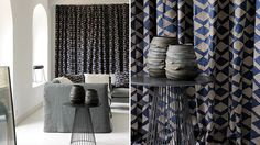 Welcome Winter! #grey #black #fabrics #collection #designer #Elitis. Shop fabric collection at Mavriki & Co. www.mavriki.gr