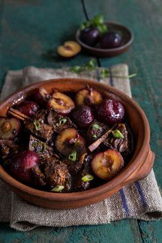 Indonesian Soy Sauce (Kecap Manis) is sweeter and thicker than regular Soy sauce; it adds a beautiful richness to this Indonesian Short Ribs with Plums dish.