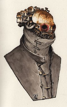 Zerog - Characters, Jan Buragay on ArtStation at… Arte Robot, Robot Art, Character Concept, Character Art, Concept Art, Apocalypse Art, Warhammer 40k Art, Arte Cyberpunk, Arte Horror