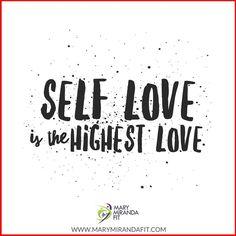 "Self Love is the highest love we can aspire to.  Fall in love with yourself.  Become the ""love of your life.""  -  - El Amor Propio es el amor más alto e intenso al que debes aspirar.  Enamorate de ti misma.  Conviertete en el amor de tu vida.  - - . . http://ift.tt/1T4hZ2a . fb twitter snapchat pinterest @MaryMirandaFit . http://ift.tt/2aZEWUB"