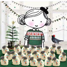 Annelinde Tempelman / Sneeuwpop cakejes maken