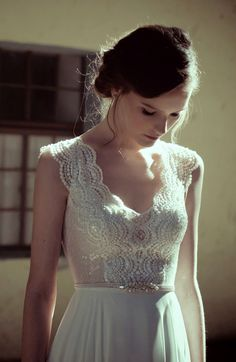Wedding Dresses by Flora Bridal 2014 - Belle The Magazine