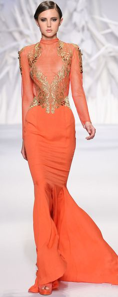 Abed Mahfouz Haute Couture Fall-Winter 2013-2014 Bodice/sleeve inspiration
