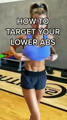 Fitness Workouts, Gym Workout Videos, Gym Workout For Beginners, Fitness Workout For Women, Easy Workouts, Fitness Motivation, Ab Exercises For Beginners, Lower Ab Exercises, Weight Loss Motivation