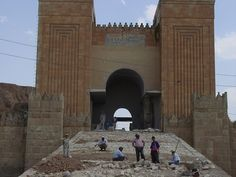 Entrance to Nineveh, Iraq. Iraq is where Babylon was, and an area that fought Jerusalem.