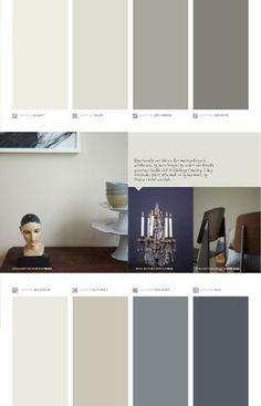 Bilderesultat for kalkgrå jotun Grey Wall Color, Wall Paint Colors, Interior Paint Colors, Paint Colors For Home, Jotun Paint, Jotun Lady, Mood Board Interior, Living Room Goals, Color Azul